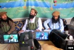 Представители талибов и Аль-Каиды в Афганистане. Где-то в районе афгано-пакистанской границы, лето 2014 года