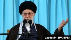 Lideri suprem i Iranit, Ayatollah Ali Khamenei, foto nga arkivi.