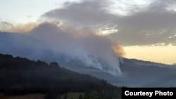 آتشسوزی در جنگلهای سربیا