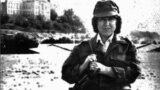 Afghanistan - Belarusian writer and Nobel laureate Svyatlana Aleksiyevich in Kabul, Afghanistan, 1988