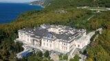 Фотографија од дрон од палатата на брегот на Црно Море