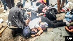 یک سازمان غیر دولتی گفته است تنها در استانبول دستکم ۸۳ نفر بازداشت و ۱۴ نفر نیز زخمی شدهاند