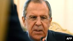Министр иностранных дел России Сергей Лавров. Москва, 1 июня 2015 года.