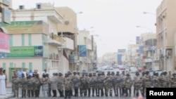 Pamje e pjesëtarëve të policisë së Arabisë Saudite