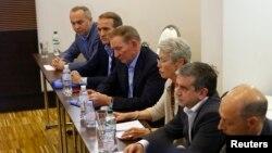 Попередня зустріч контактної групи у Мінську, 27 червня 2014