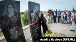 Jurnalist Rasimin Əliyevin vəfatından bir il ötür- [fotolar]