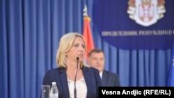 Vlada neće poslati odgovore na pokrenute interpelacije: Željka Cvijanović