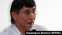 Жасарал Қуанышәлин, оппозициялық саясаткер. Алматы, 10 шілде 2012 жыл.