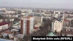 Дома в Бишкеке.