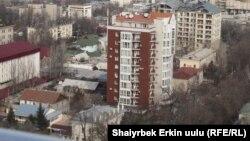 Kyrgyzstan -- New building in Bishkek, 14 March 2013.