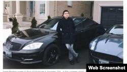 Фрагмент скриншота из публикации канадских СМИ о задержании уроженца Казахстана Карима Баратова.