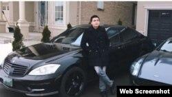 Скриншот публикации на сайте CBC/Radio-Canada о задержании уроженца Казахстана Карима Баратова в Онтарио.