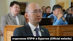 Депутат Народного Хурала Бурятии от КПРФ Федор Бураев