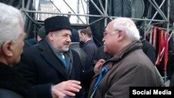 Иса Гамбар и Рефат Чубаров. 15 декабря 2013 год