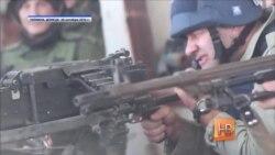 Пистолет вместо цветов бросили под ноги Пореченкову