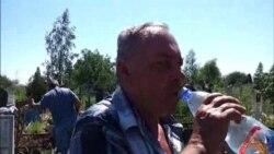Крымск: пахаваньне загінулых