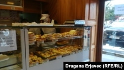 Suad Beri: Za sat zaradimo dvije marke (na fotografiji: unutrašnjost pekare Rollin)