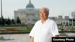 Казахский писатель и общественный деятель Абиш Кекильбаев.