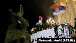 Antivladini protesti #1od5miliona u Beogradu, 16.02.2019.