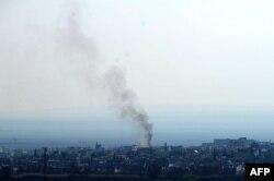 На околицях Кобане ще догорають бої, 26 січня 2015 року