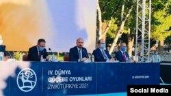 Дүйнө этноспорт конфедерациясынын президенти Билал Эрдоган