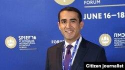 Ташкентский предприниматель Мухаммадбабур Хаджаев.