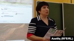 Рәсилә Габдрахманова ачык дәрес бирде