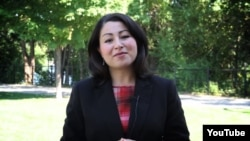 Maryam Monsef, a member of the Liberal Party of Canada