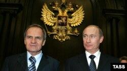 Валерий Зорькин и Владимир Путин