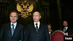 Владимир Путин и Валерий Зорькин