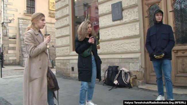 Українці, які прибули 20 березня з Перемишля