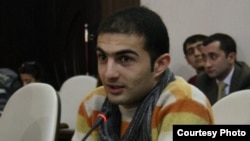 Rashad Hasanov was one of two activists arrested in Baku on March 14.