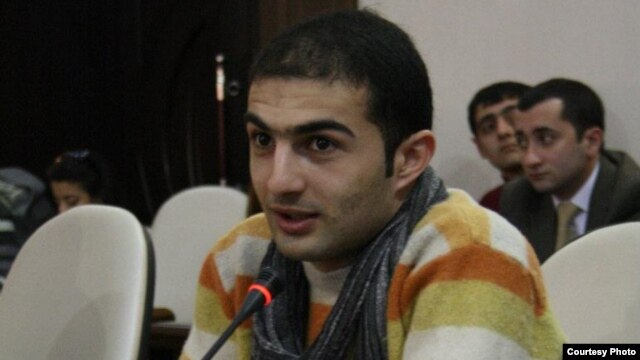 Azerbaijani activist Rashad Hasanov