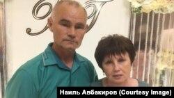 Наиль Авбакиров с супругой
