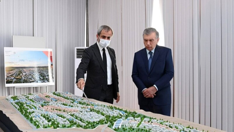 Өзбекстанда Жаңа Әндіжан атты қаланың құрылысы басталды