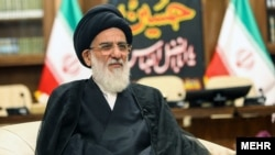 The head of Iran's Expediency Discernment Council, Mahmoud Hashemi Shahroudi, undated.