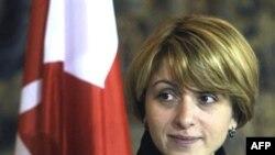 Грузиянын тышкы иштер министри Эка Ткешелашвили