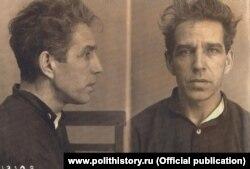Арестованный Алексей Кузнецов. Москва, 1949 г.
