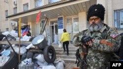 Краматорск. События в далеком городе на Донбассе вызвали широкий отклик на сайтах британских СМИ