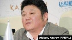 Рустем Абдрашов, режиссер исторического сериала «Казах ели». Алматы, 6 марта 2015 года.