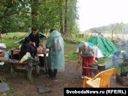 Лагерь защитников Химкинского леса, 2012 года