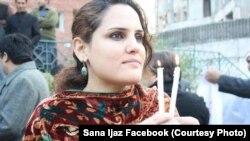 ثنا اعجاز وايي پولیسو ورته ویلي چې دا بلوچستان ته د ورتګ اجازه نه لري.