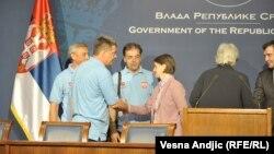 Predstavnici sindikata Fijata i premijerka Brnabić
