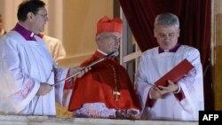 Жаңы Папанын ысымын жарыялоо учуру