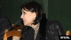 Марҳабо Ҷабборова, муовини нахуствазири Тоҷикистон.