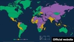 Фридом хаус: Слобода во светот 2021 година