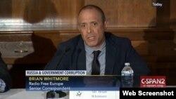 "Brian Whitmore, la o audiere în Congres pe tema ""Cleptocrați la Kremlin,"" 20 iulie 2017"