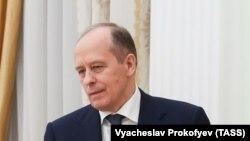 Александр Патрушев, секретарь Совета безопасности России, бывший директор ФСБ.