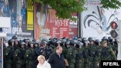 Милиции было на порядок больше чем собравшихся