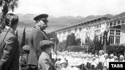 Stalin în Crimeea în 1946